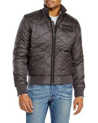 G-star Raw Quilted Bomber Jacket - Lyst