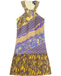 Just Cavalli Printed Dress - Lyst
