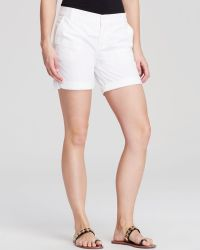Tory Burch White Chino Shorts - Lyst