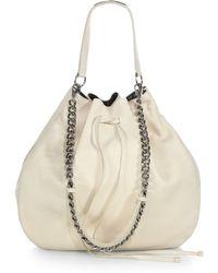 Ralph Lauren Collection Drawstring Hobo Bag - Lyst