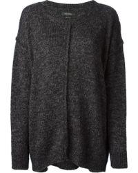 Isabel Marant Oversized Knit Sweater - Lyst