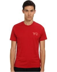 Y-3 Classic Ss Tee - Lyst