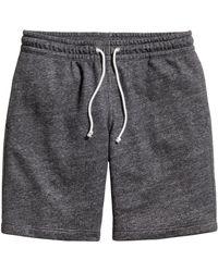 H&M Sweatshirt Shorts - Lyst