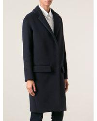 Dondup Classic Overcoat - Lyst
