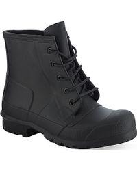 Hunter Original Lace Up Wellington Boots - For Women - Lyst