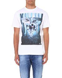 Diesel Tuzuri T-shirt White - Lyst
