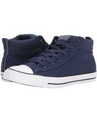 f4687444dd9d8b Lyst - Converse Chuck Taylor® All Star® Chuck Ii Woven Hi in Blue ...
