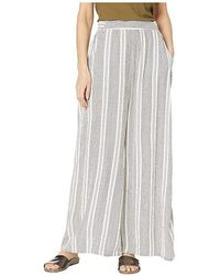 07399932fcda7d Forever21. Angie - Wide Leg Pants W/ Front Self Tie (white/black) Clothing