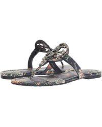 0acc42536f23bd Lyst - Women s Tory Burch Flat sandals On Sale