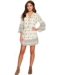 Jack BB Dakota - Andee Mixed Print Dress - Lyst