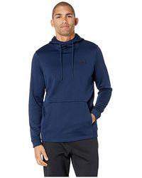 ea0f3d225 Under Armour Ua Storm Armour® Fleece Big Logo Hoodie in Blue for Men - Lyst