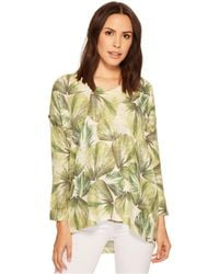 Nally & Millie - Tropical Printed Top - Lyst