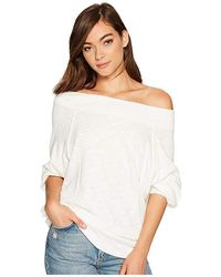 Free People - Palisades Thermal (ivory) Clothing - Lyst