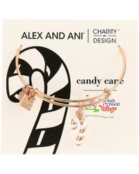 ALEX AND ANI - Charity By Design Candy Cane - Lyst