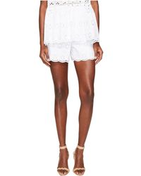 Kate Spade - Spice Things Up Eyelet Shorts - Lyst