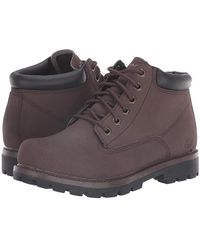 e245b9d3b6a2 Skechers Relaxed Fit Toric Amado (chocolate) Boots