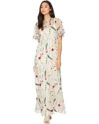 Juicy Couture - Embroidered Mesh Maxi Dress - Lyst