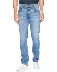 Hudson Jeans - Blake Slim Straight Zip In Radar - Lyst