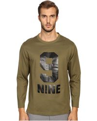 Marc Jacobs - Slim Fit Solid Jersey Long Sleeve Tee - Lyst