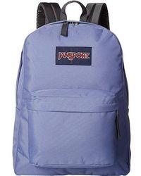 Jansport - Superbreak(r) (bleached Denim) Backpack Bags - Lyst