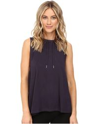 Midnight By Carole Hochman - Lounge Sleeveless Hoodie - Lyst