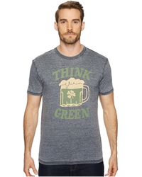 Lucky Brand - St Pats Day Green Beer Tee - Lyst