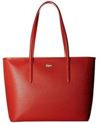 Lacoste - Chantaco M Zip Shopping Bag - Lyst