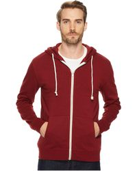 Threads For Thought | Triblend Zip Front Hoodie | Lyst