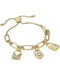 Michael Kors - Logo Slider Bracelet - Lyst