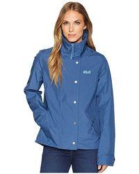 61edf9f21 Jack Wolfskin Troposphere Waterproof Down Jacket (midnight Blue) Coat in  Blue - Save 29% - Lyst