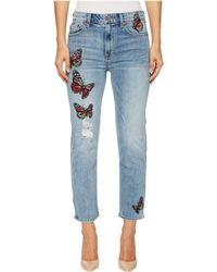 Lucky Brand - Bridgette Slim Striaght Jeans In Alamitos - Lyst