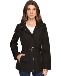 MICHAEL Michael Kors - Belted Snap Front Jacket M322119r74 - Lyst