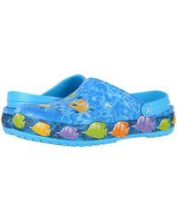 Crocs™ - Crocband Lights Fish Clog - Lyst