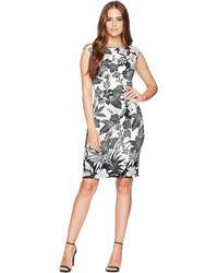 Chaps - Twist-front Jersey Dress - Lyst