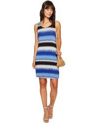 Kensie - Burst Stripes Dress Ks6k9569 - Lyst