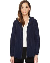 RED Valentino - Nylon & Scallops Embroidery Jacket - Lyst
