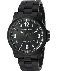 43b6e475857b Lyst - Michael Kors Mk8555 - Paxton in Black for Men