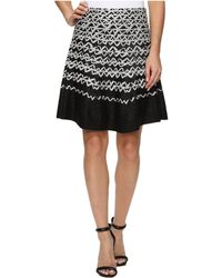 NIC+ZOE - Geometric Chic Twirl Skirt - Lyst