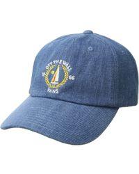 566bcd40280 Vans - Ordway Curved Bill Jockey Hat - Lyst