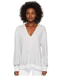 aa5d3d6e94 Free People Sail Away Hoodie By Fp Beach in Red - Lyst