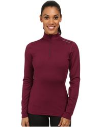 Hot Chillys - Micro-elite Chamois 8k Solid Zip-t - Lyst