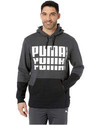 7e38b107b8066 Lyst - PUMA Men s Rebel Sleeveless Hoodie in Gray for Men