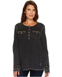 Double D Ranchwear - Gully Washed Henley - Lyst