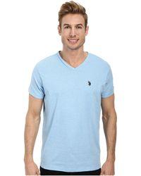 U.S. POLO ASSN. - V-neck Short Sleeve T-shirt - Lyst