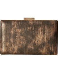 CALVIN KLEIN 205W39NYC - Brushed Metallic Evening Bag - Lyst