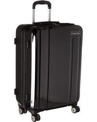 Calvin Klein - Beacon 24 Expandable Spinner (black) Luggage - Lyst