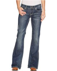 Stetson - 816 Fit Medium Wash Thick Contrast Top Stitch - Lyst