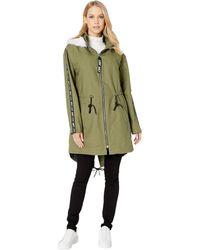 49c9d4a498c3 Lyst - Juicy Couture Wool-blend Princess Coat in Black