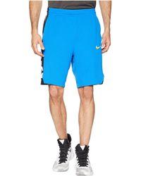 c04302a20d85 Lyst - Nike Elite Stripe Basketball Shorts in Gray for Men