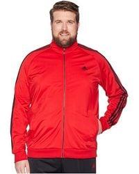 1df509844edcf adidas Essentials 3-stripe Woven Track Top in Black for Men - Lyst